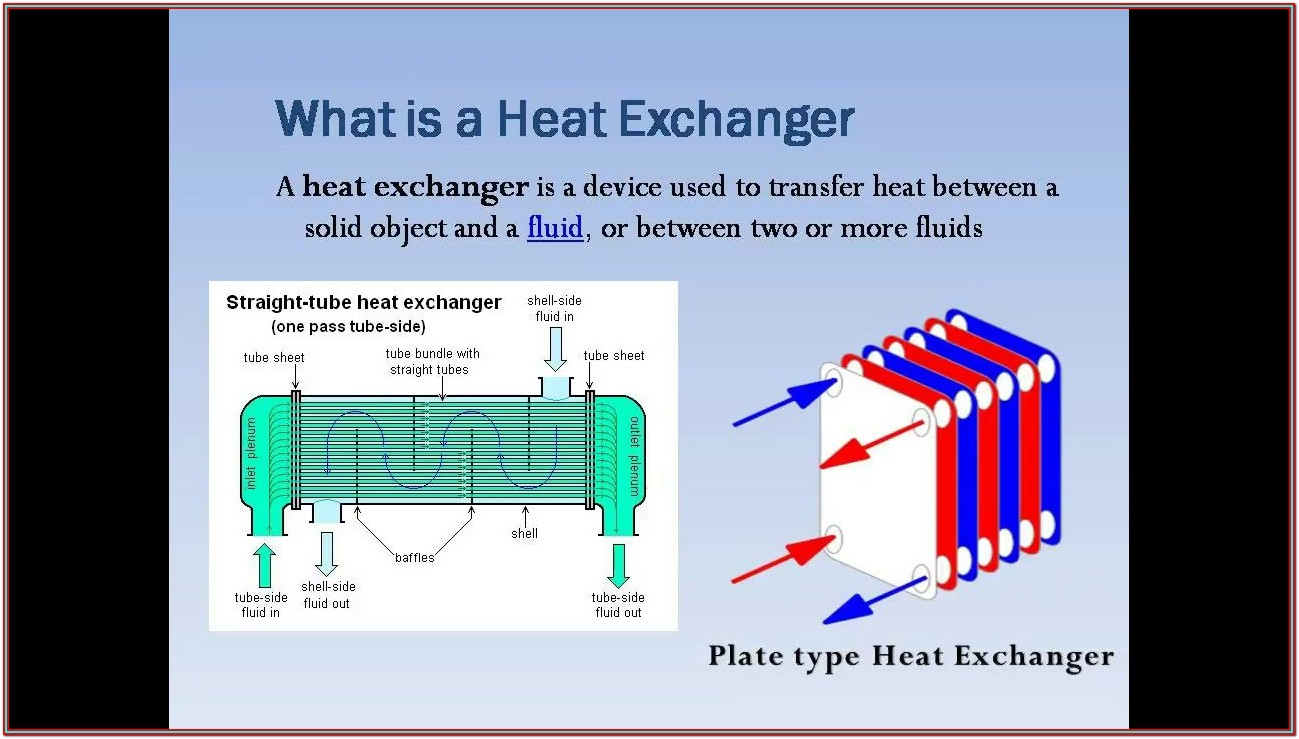 Heat Load Calculation Formula For Heat Exchanger