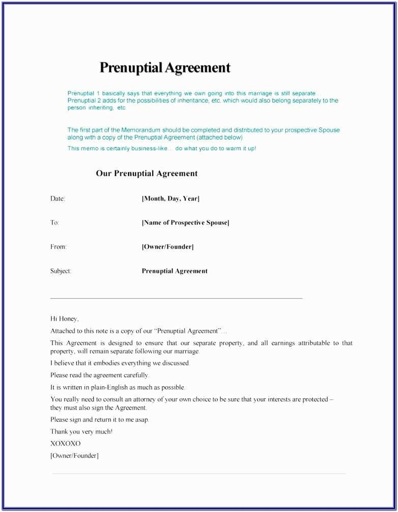 Illinois Prenuptial Agreement Form