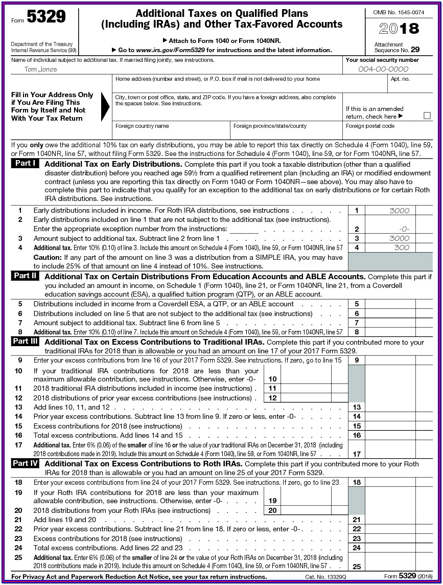 Ira Withdrawal Form Irs