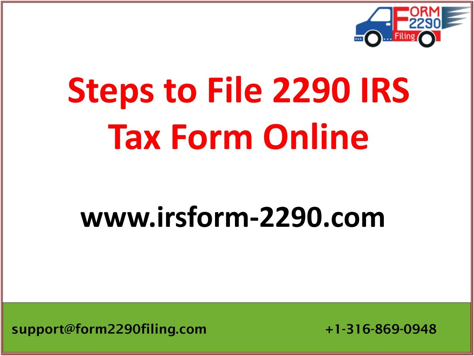 Irs Tax Form 2290