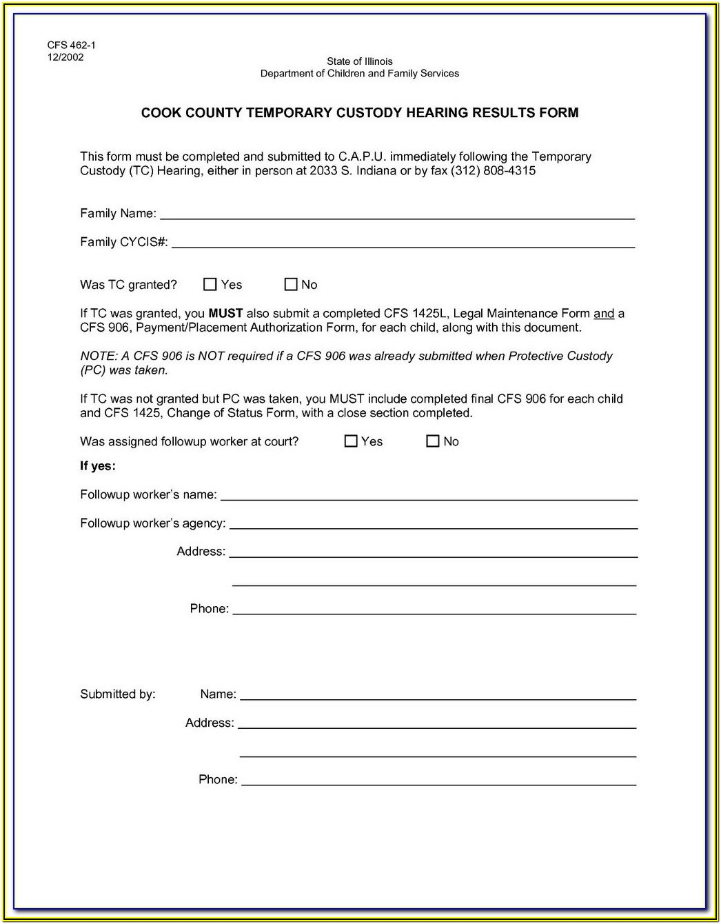 Legal Guardianship Printable Guardianship Forms