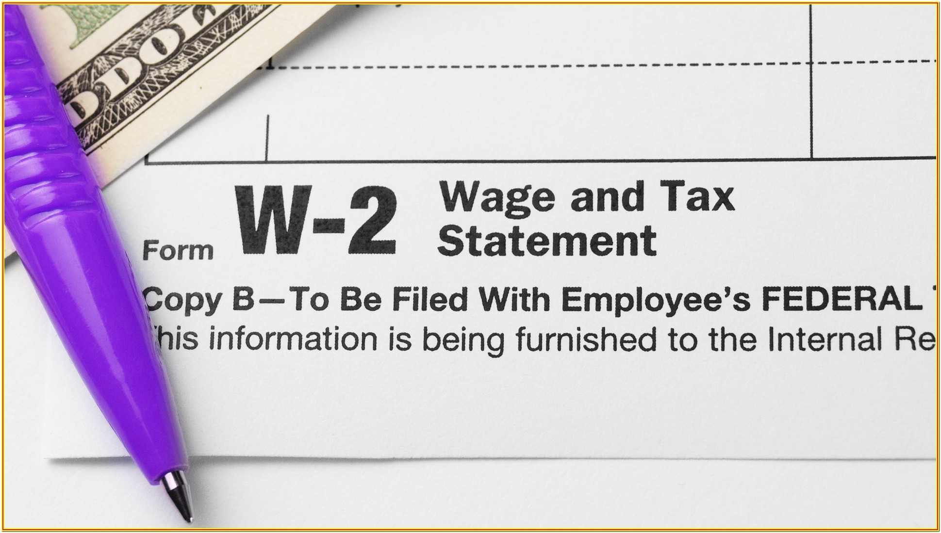 Lost W2 Tax Form