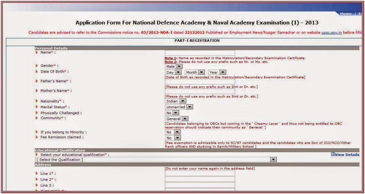 Nda Form Pdf Download