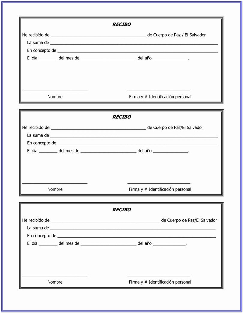 Non Profit Printable Donation Form Template