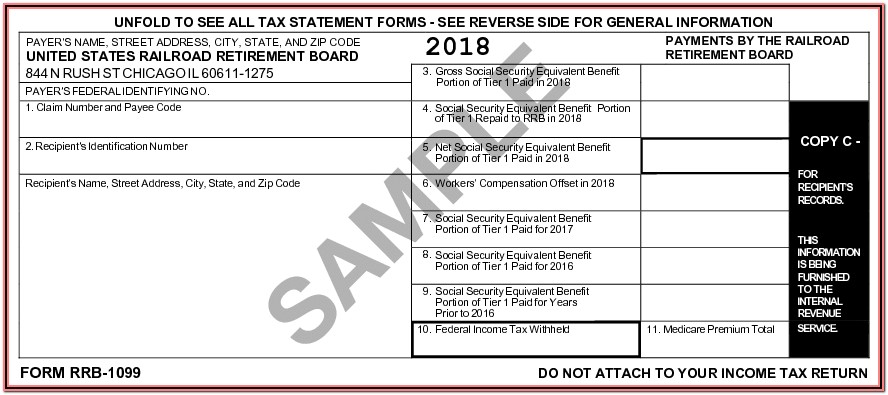 Non Ssa 1099 Form Sample