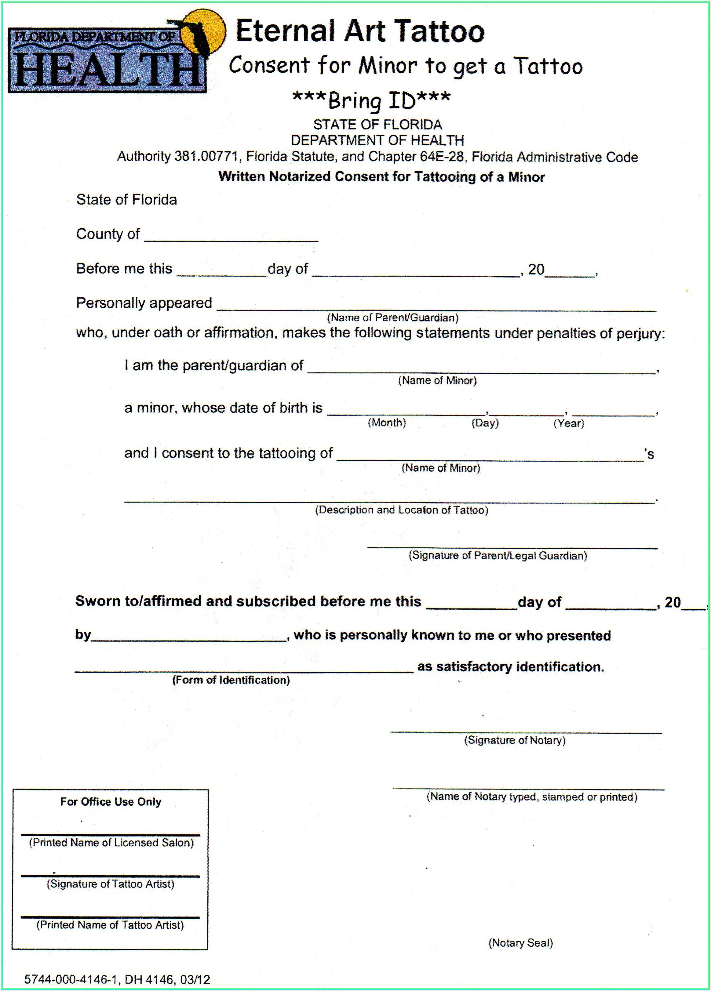 Notary Public Application Form California