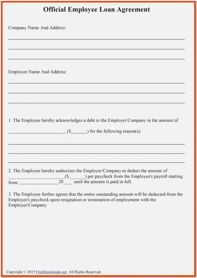 Payroll Form Templates
