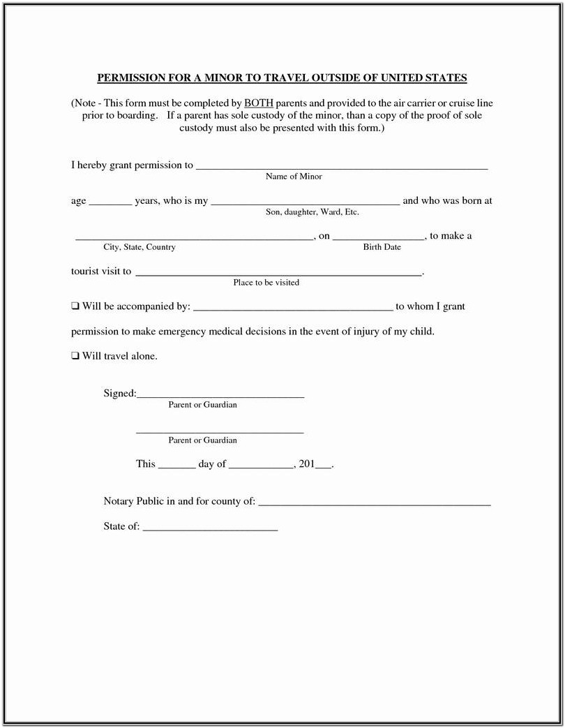 Petition For Guardianship Form