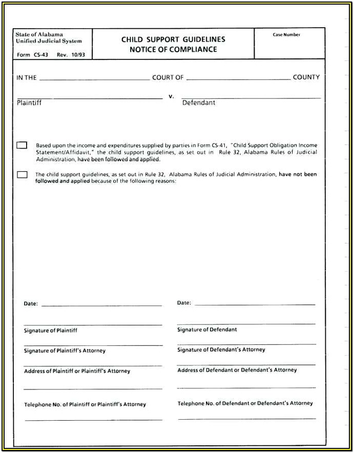 Petition Samples Forms