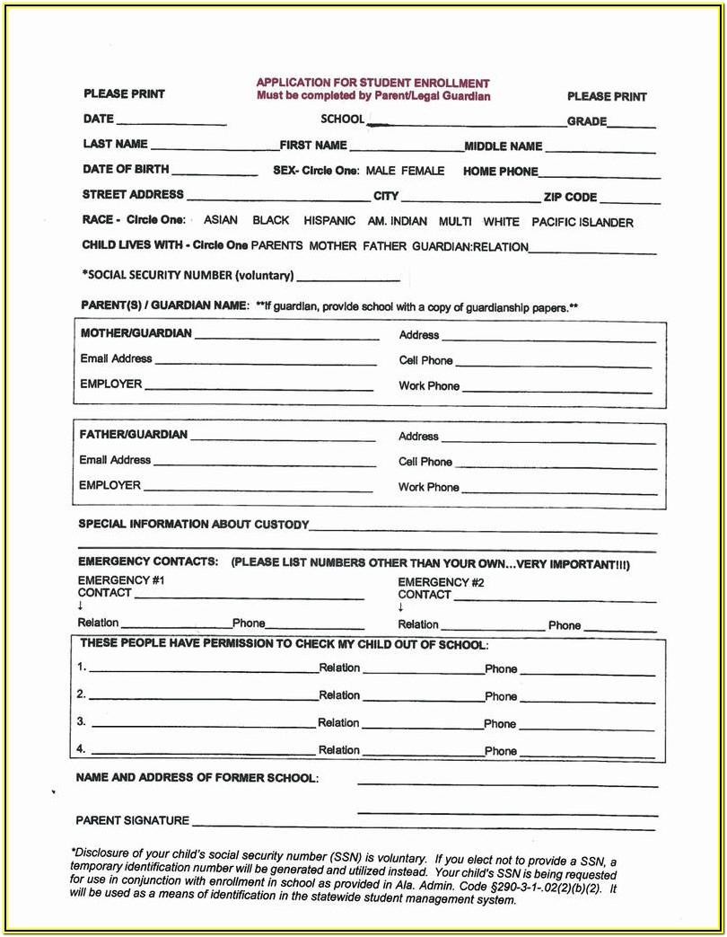 Printable Guardianship Forms Texas