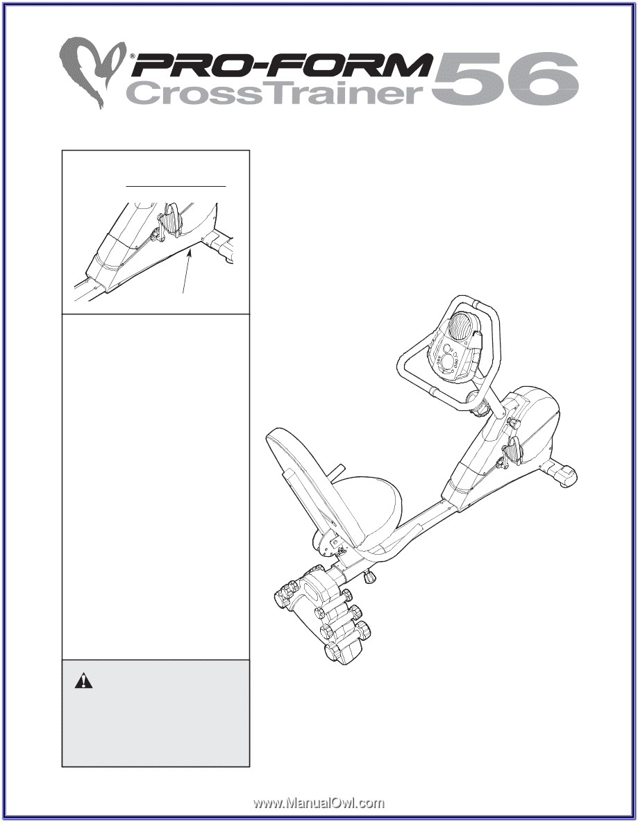 Proform Crosstrainer 56