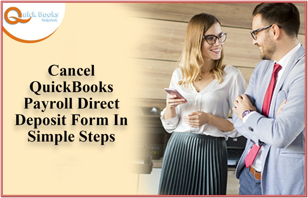 Quickbooks Payroll Direct Deposit Form