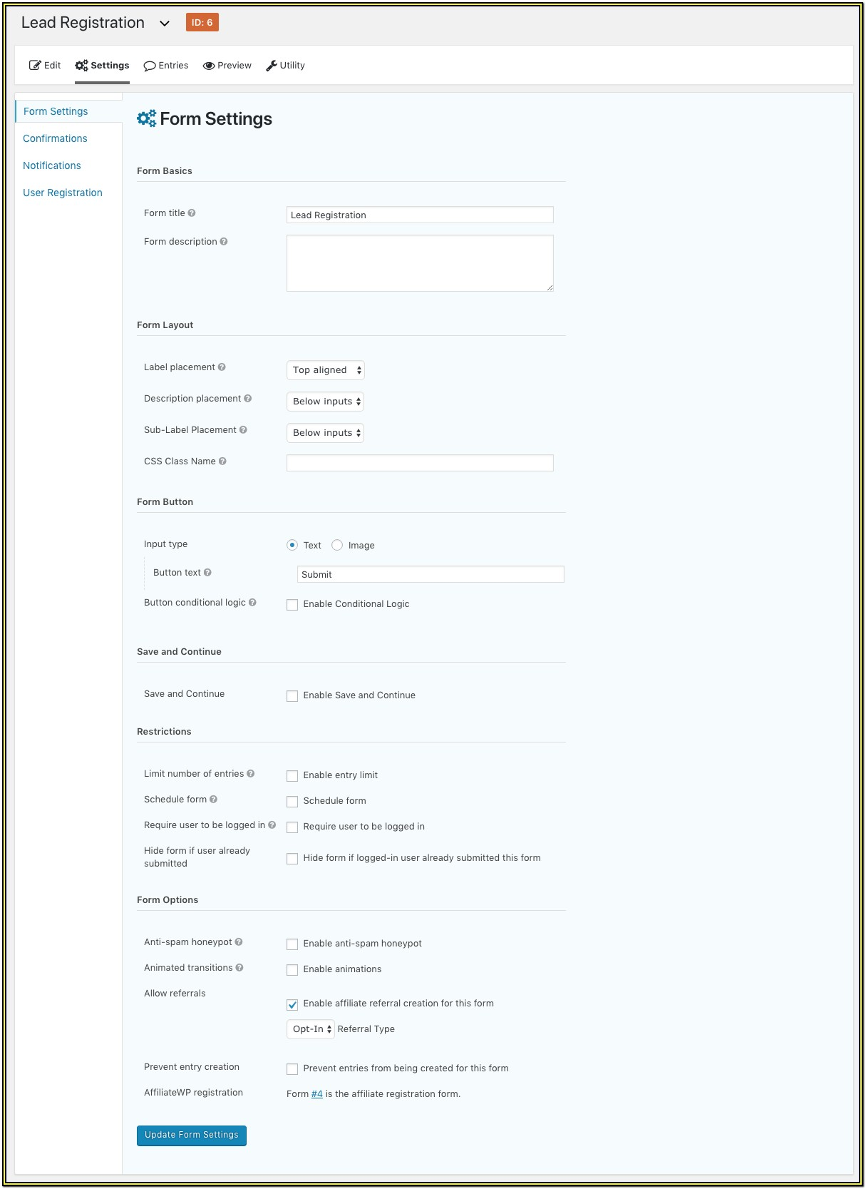 Registration Form With Paypal Integration