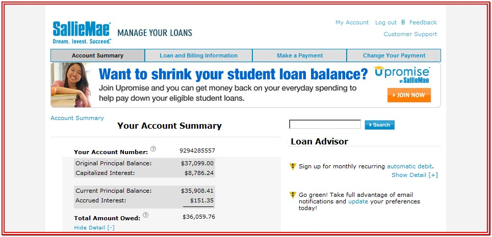 Sallie Mae Student Loan Application Form