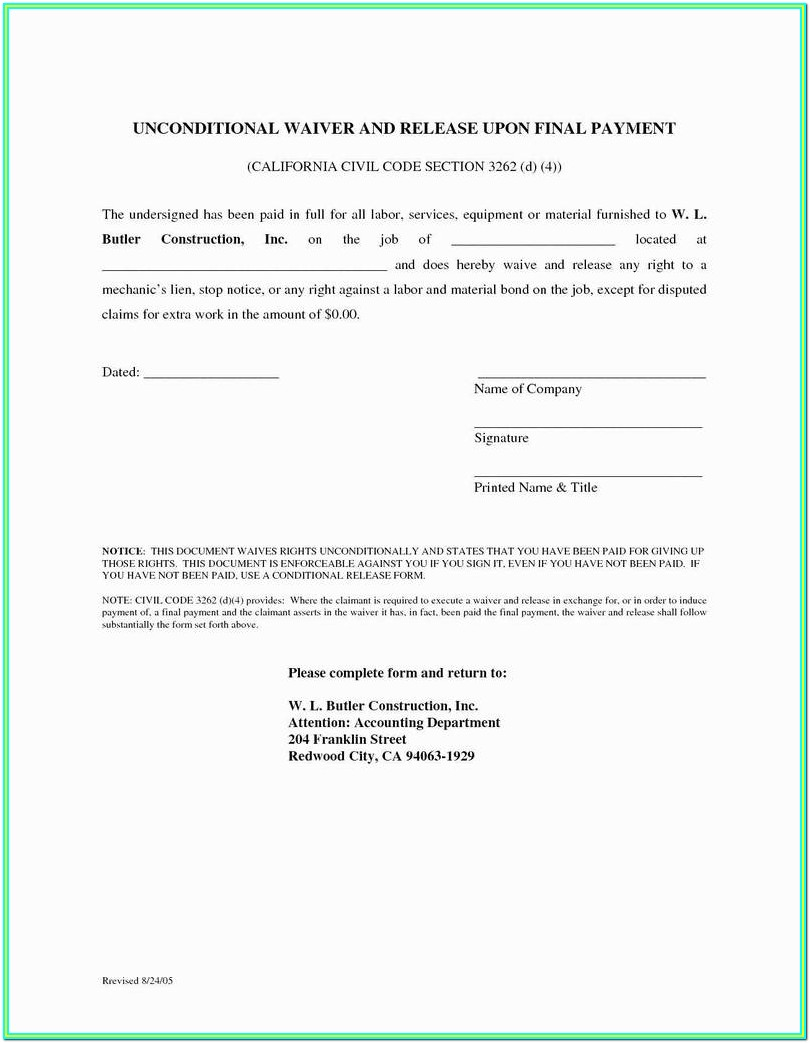 Small Estate Affidavit Form California