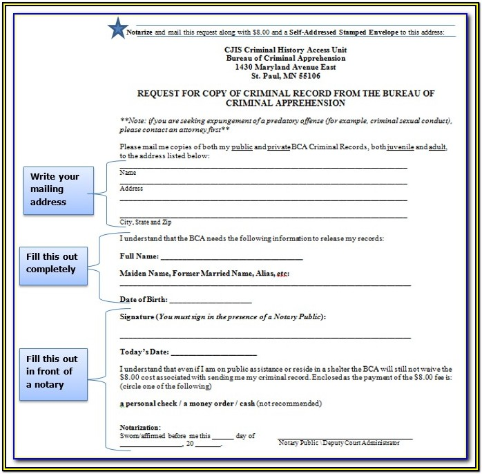 Texas Expungement Forms