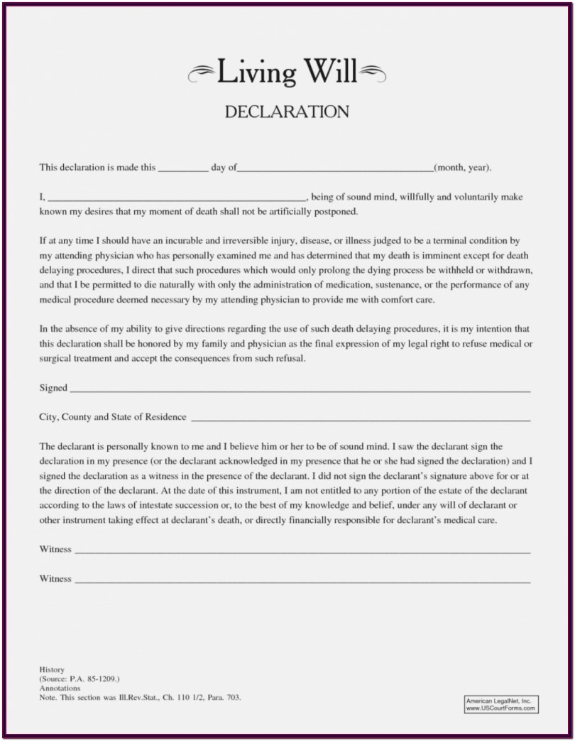 Texas Revocable Living Trust Form