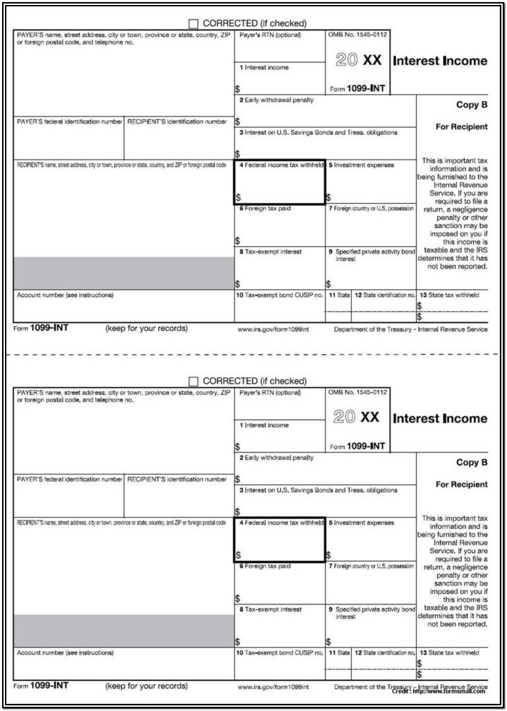 1099 Misc Form Free