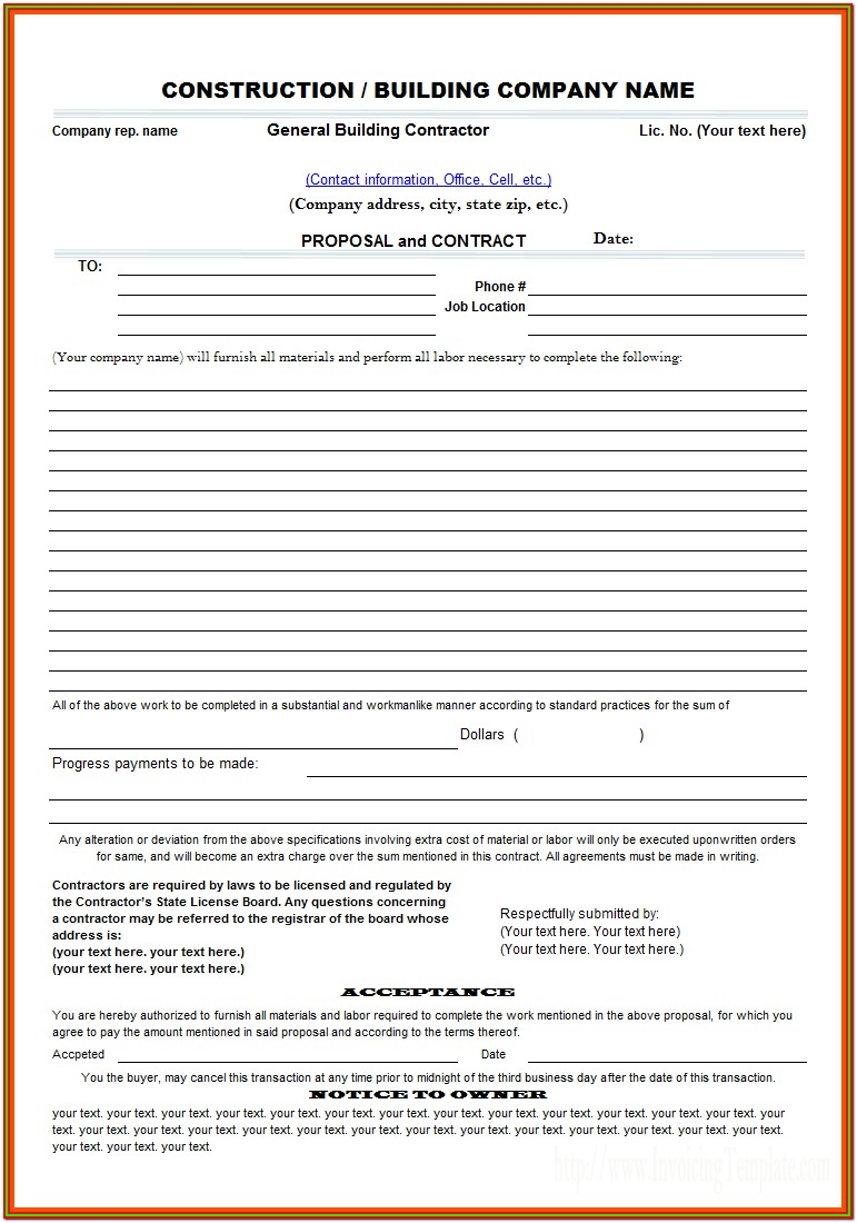 Aia Construction Contract Forms