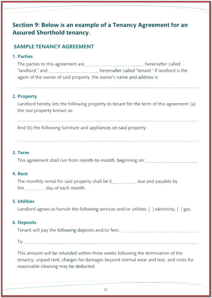 Alberta Rental Forms Landlords