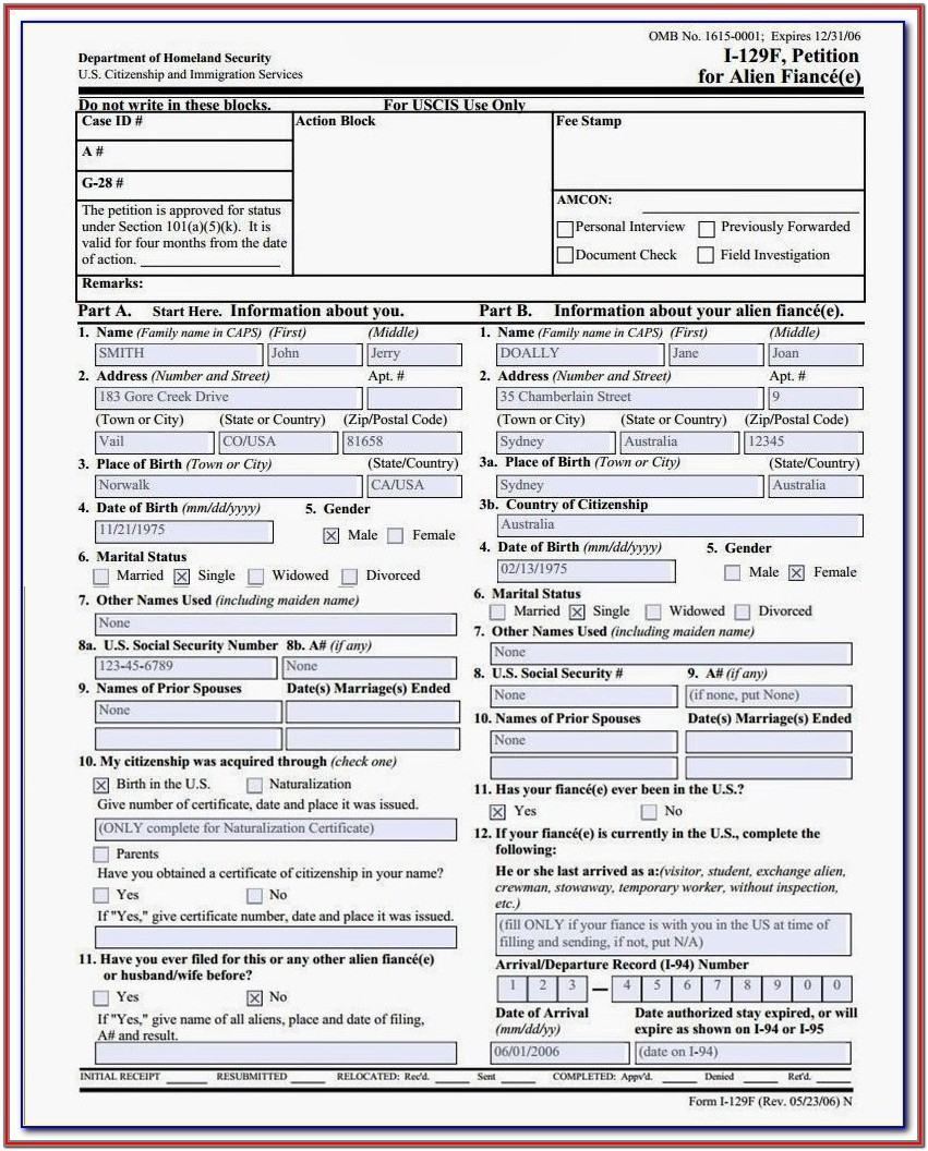 Australia Visitor Visa Application Form 600