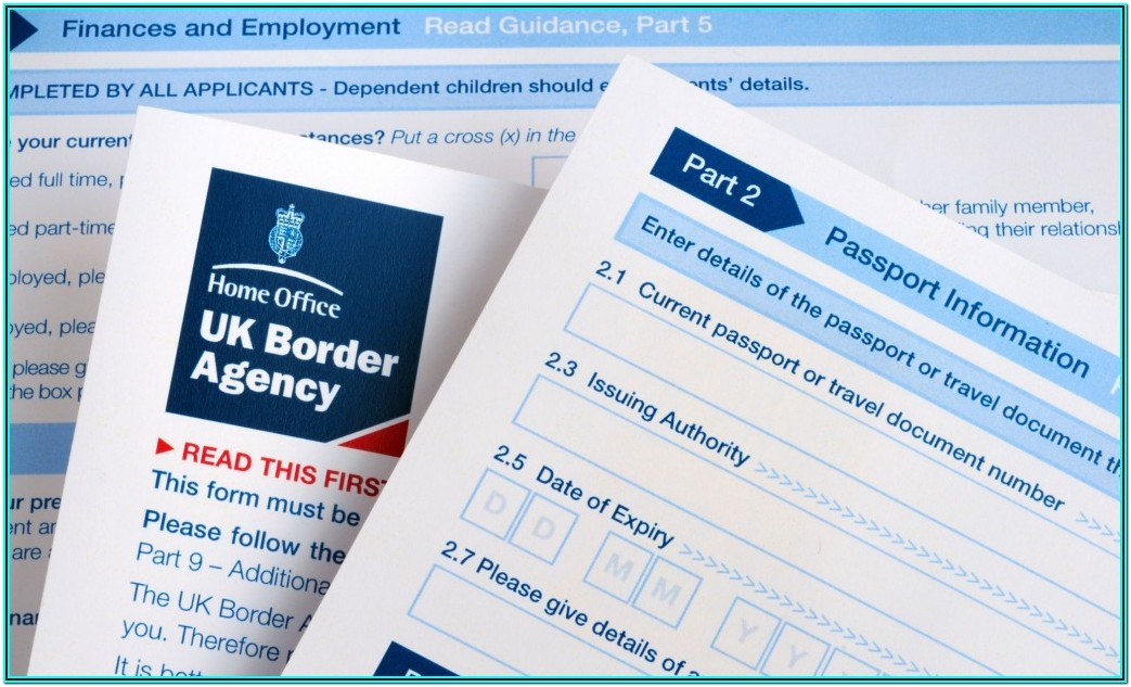 British Visa Application Forms Download