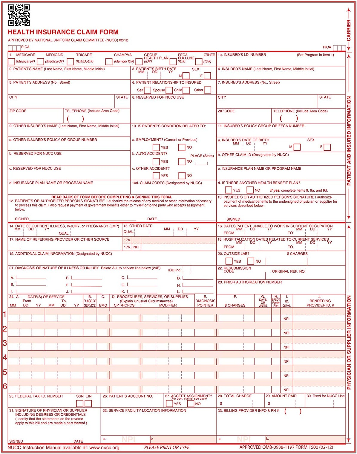 Buy Cms 1500 Forms