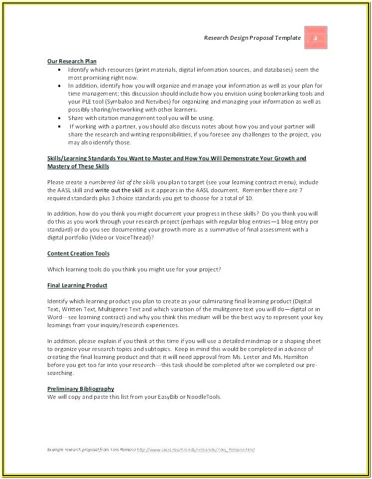 Catering Proposal Format