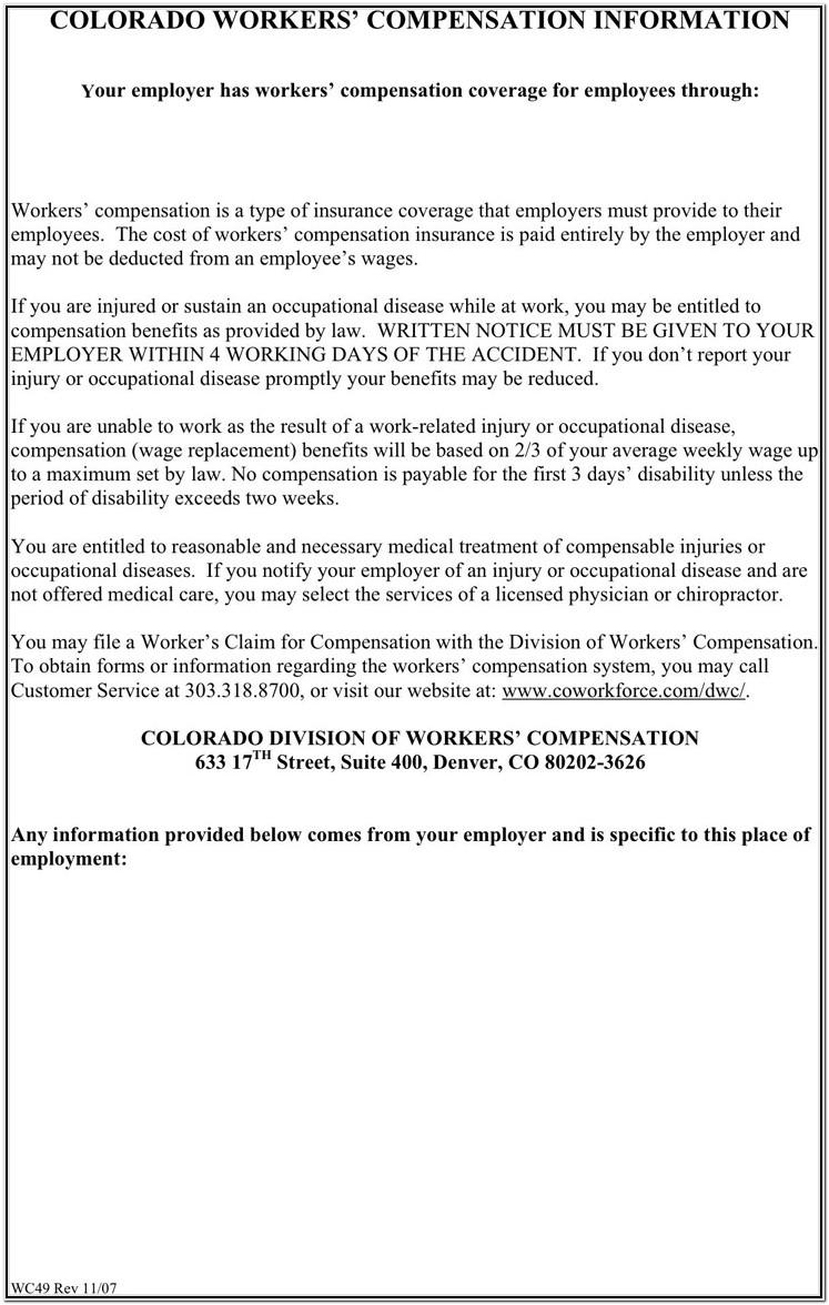 Colorado Last Will And Testament Form Free