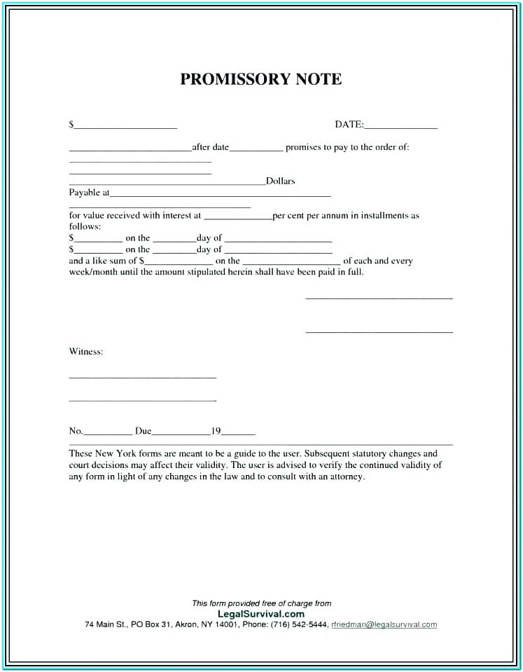 Demand Loan Form