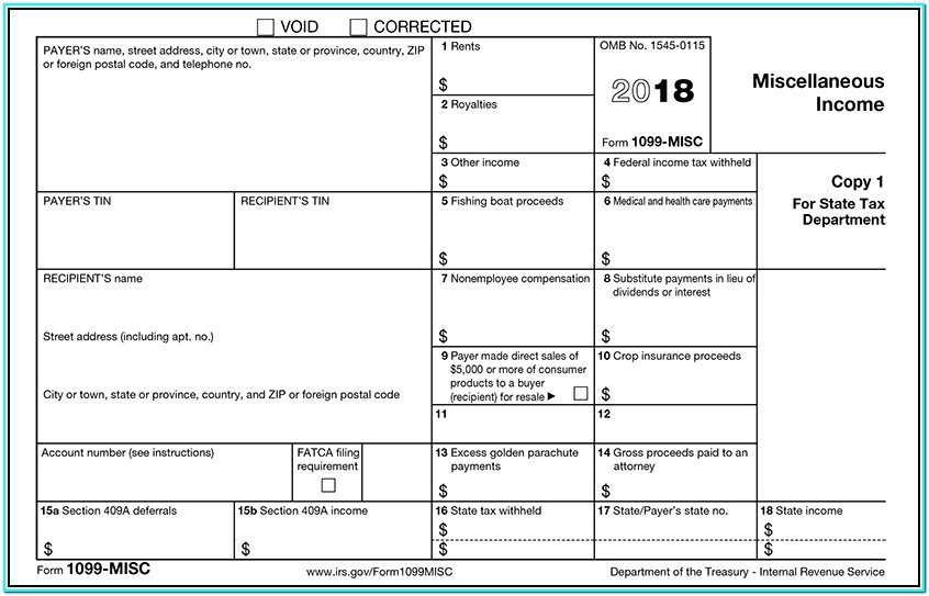 Form 1099 Filing Due Date
