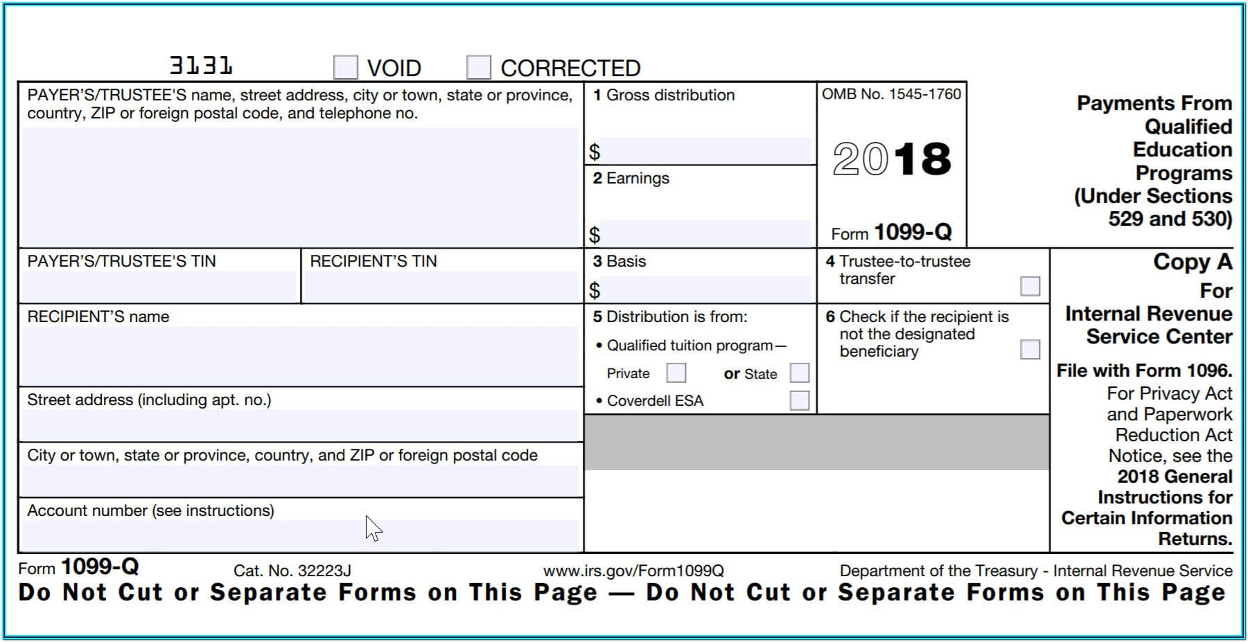 Free Printable 1099 Tax Forms