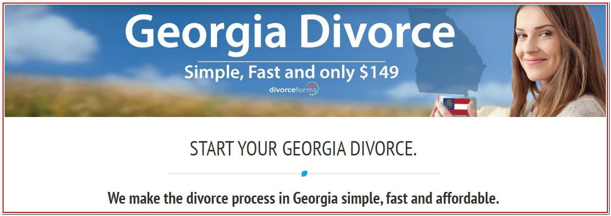 Georgia Divorce Forms