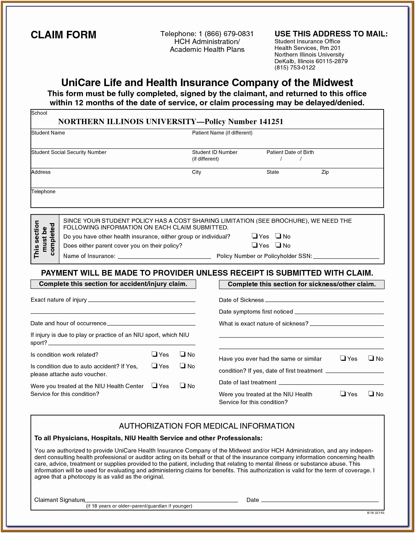 Homeowners Insurance Application Form