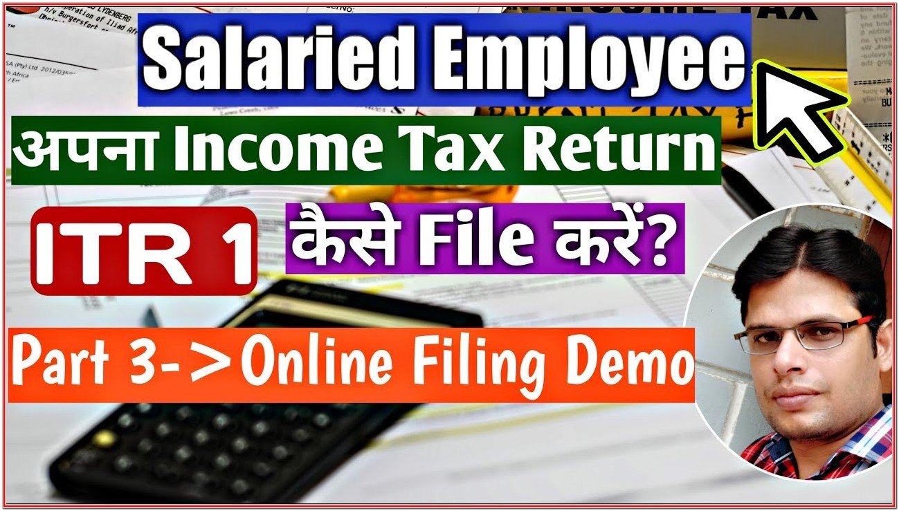 Income Tax Filing Form 2019 20