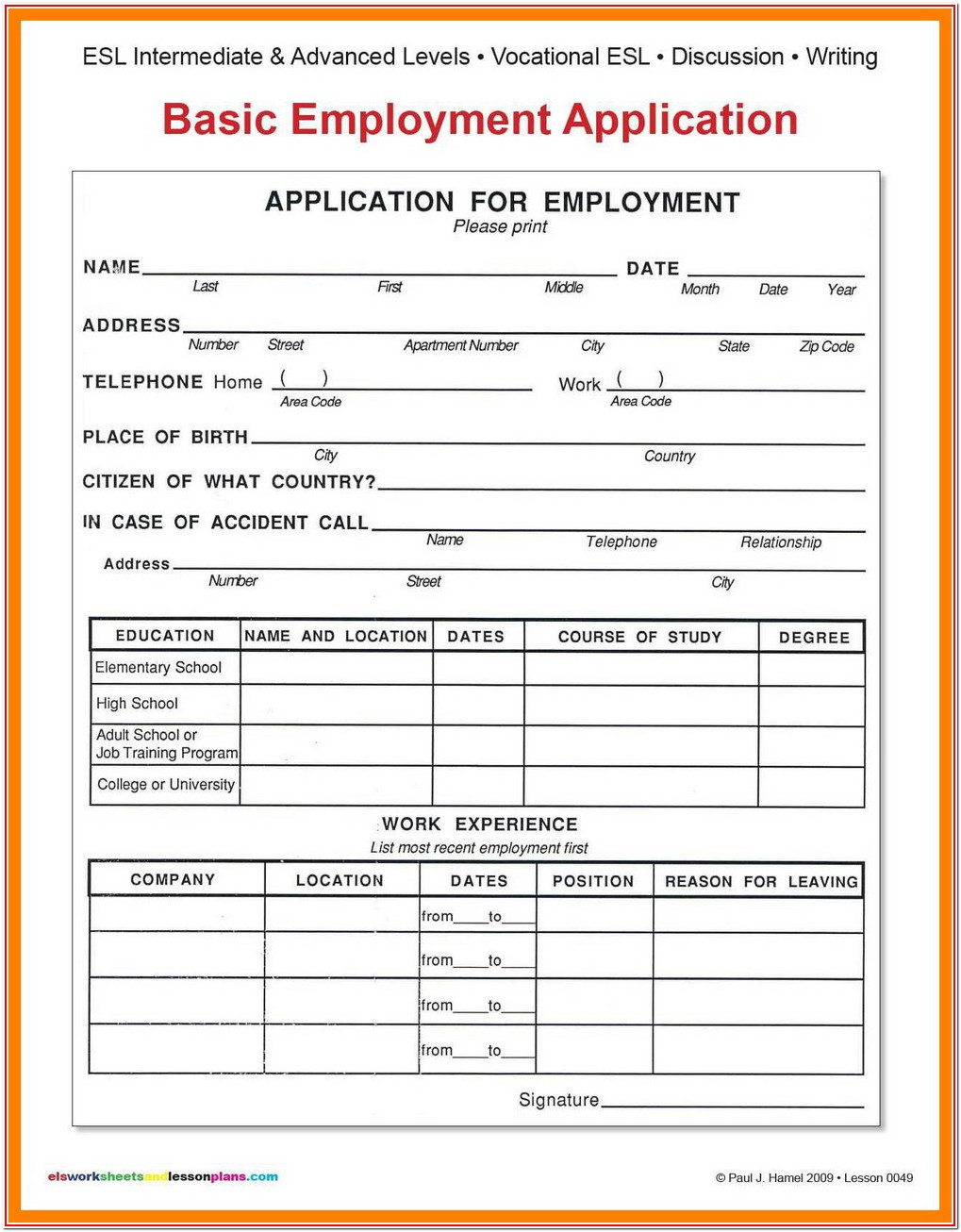 Levis Job Application Form Pdf