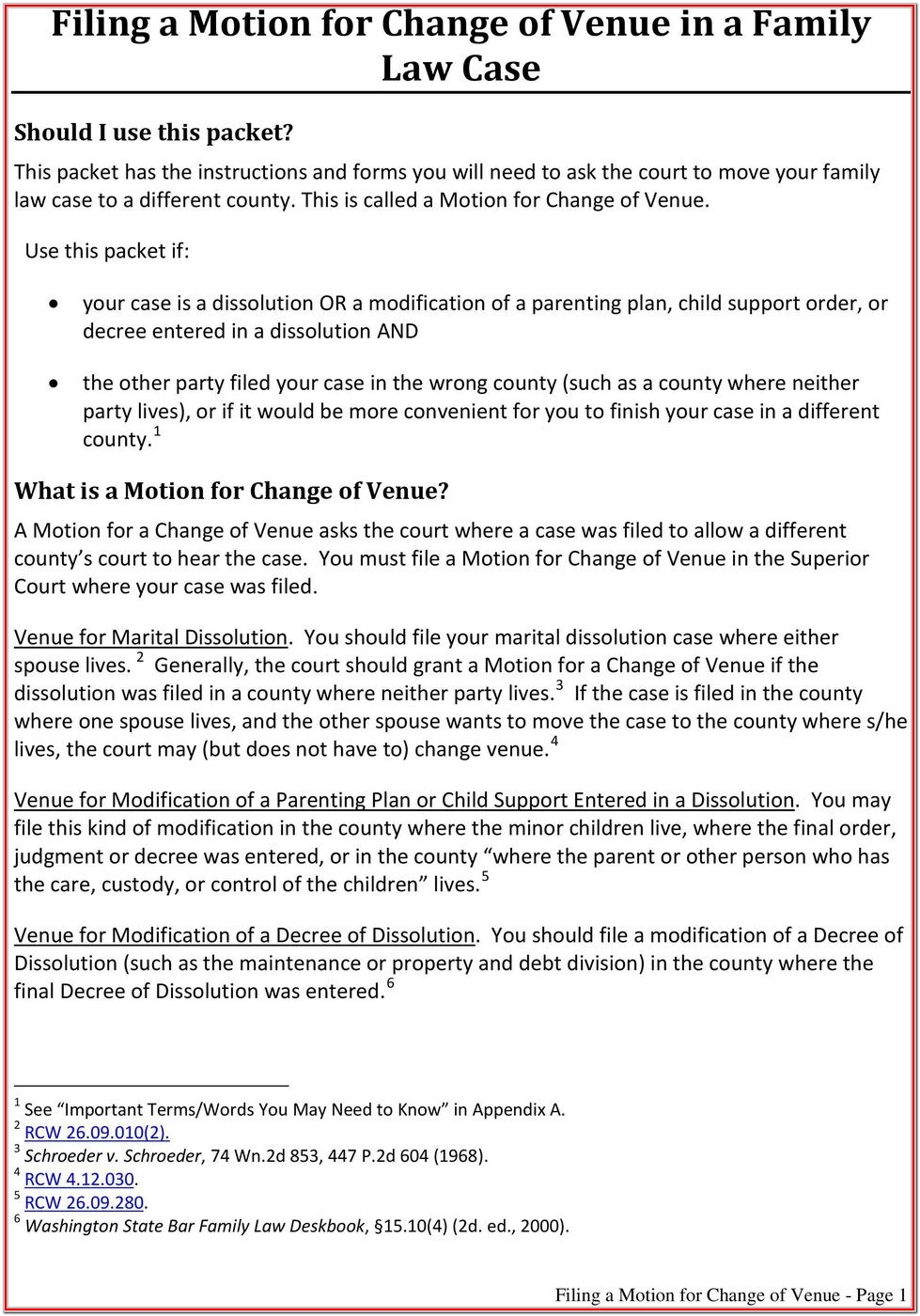 Lincoln County Divorce Forms