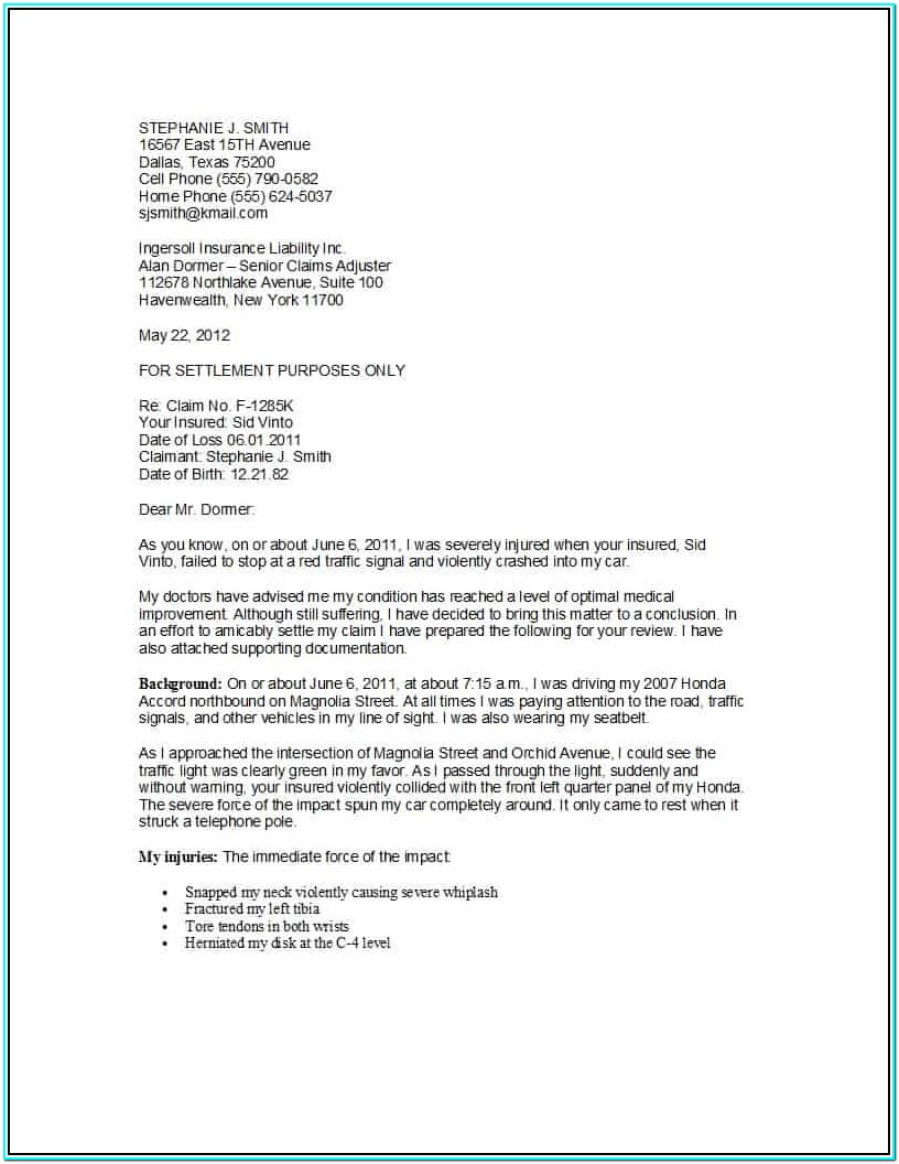 Loan Demand Letter Format