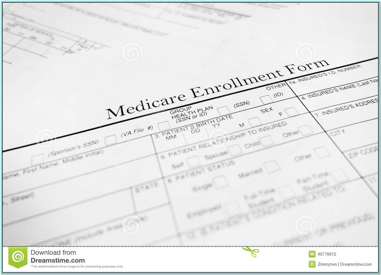 Medicare Applications Forms