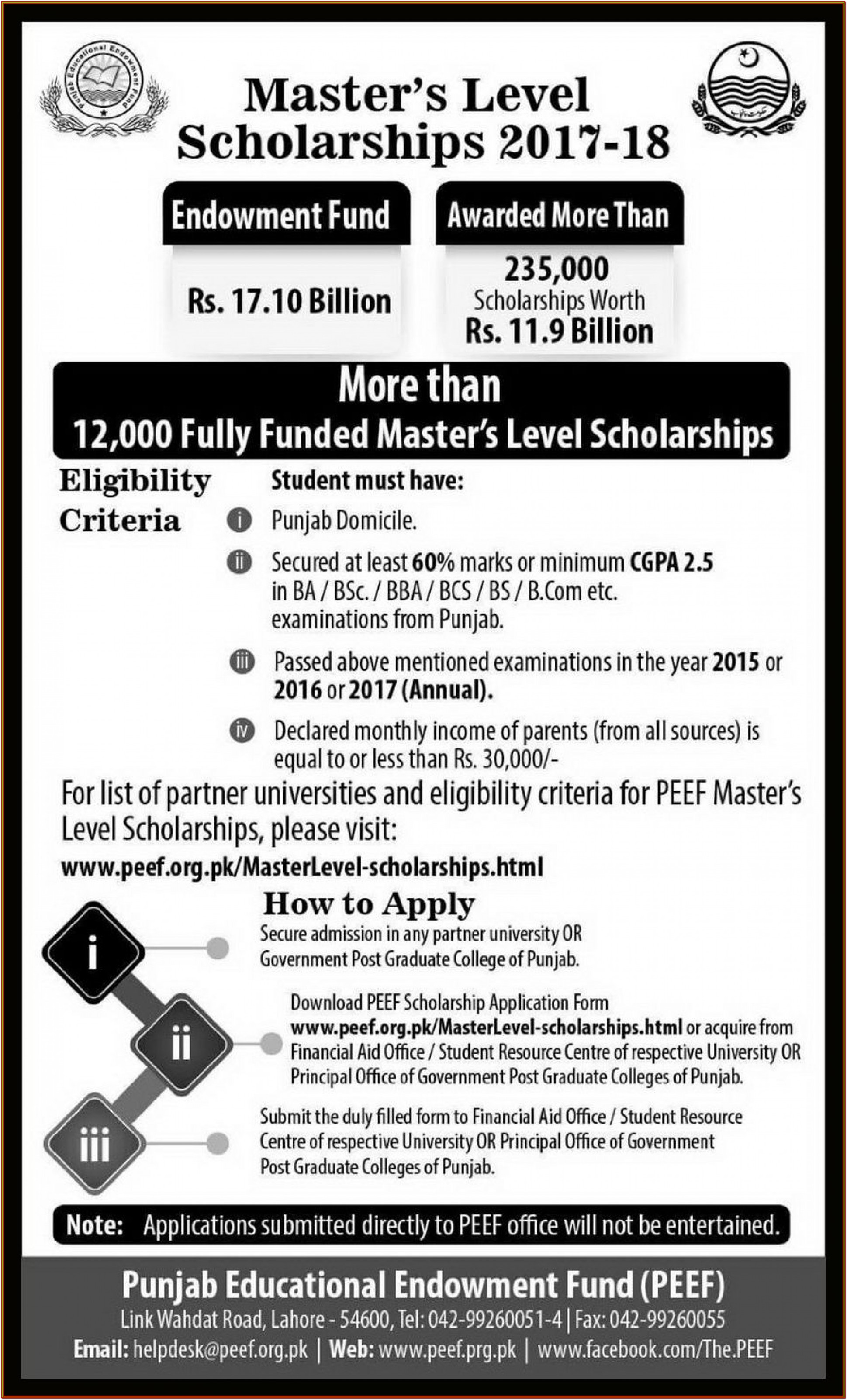 Minority Scholarship Application Form Download 2018 19