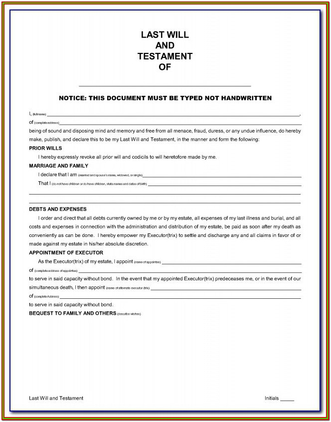Nys Legal Forms