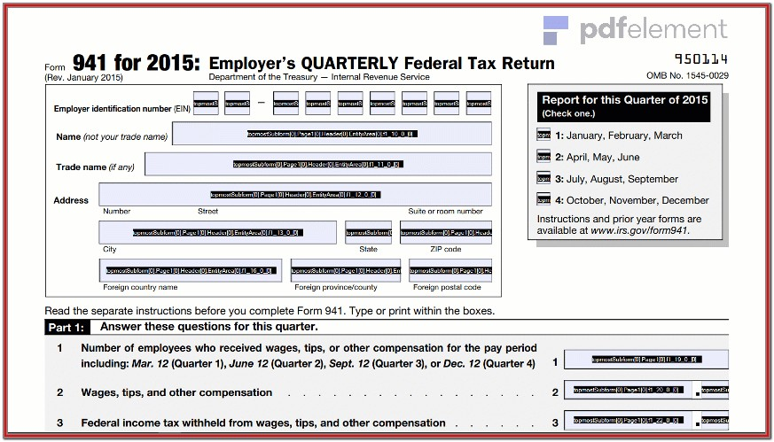 Printable 941 Form For 2018 (78)