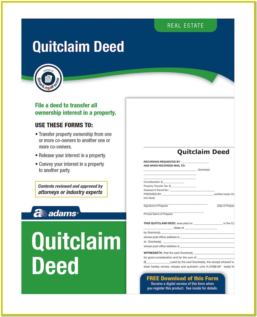 Quitclaim Deed Forms