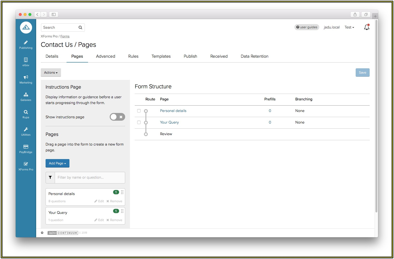 Sharepoint Form Builder
