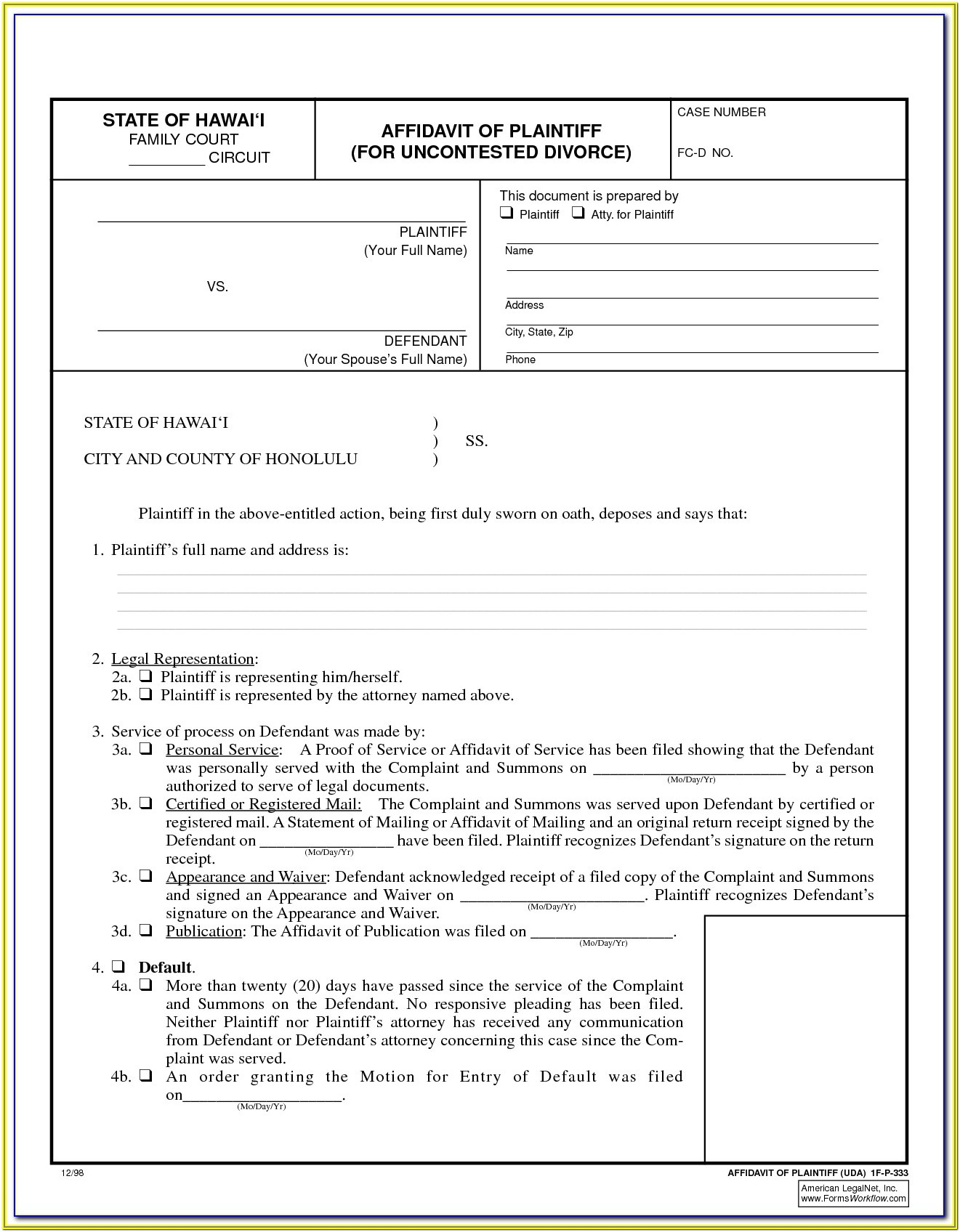 Uncontested Divorce Texas Divorce Forms