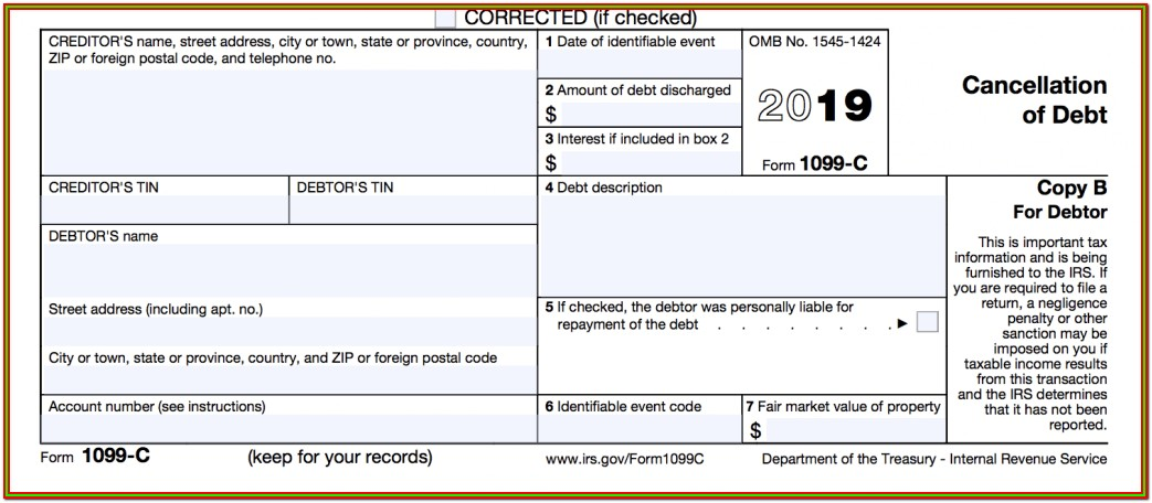 Where To Get Irs Form 1099