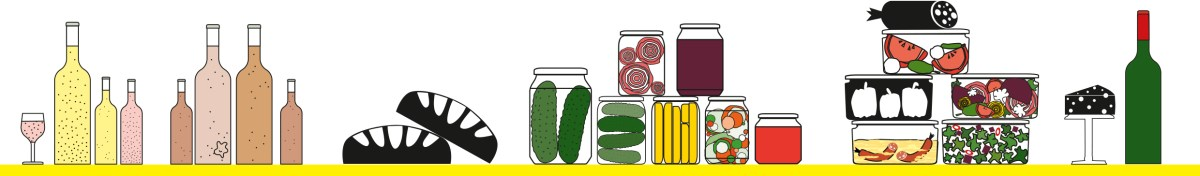 fermented food • pickles • kombucha • waterkefir