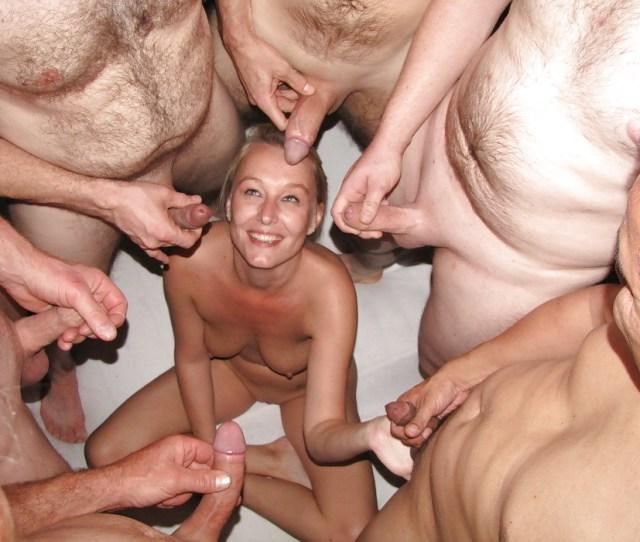 Dutch Blonde Amateur Milf Gangbang With Many Facials  Pics Xhamster Com
