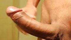 Asian Big Cock Masturbation And Massive Cumshot