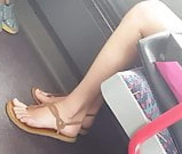 Sexy Teen Feet In Bus Pt 1